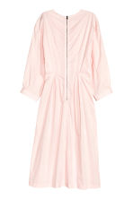 Dress with balloon sleeves - Light pink - Ladies | H&M CN 3