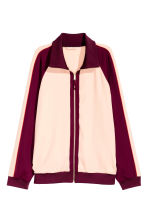 Giacca color-block - Bordeaux/cipria - DONNA | H&M IT 2