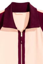 Giacca color-block - Bordeaux/cipria - DONNA | H&M IT 4