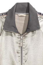 Block-coloured jacket - Silver - Ladies | H&M CN 3