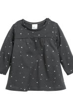 Jersey dress and leggings - Dark grey/Stars - Kids | H&M CN 5
