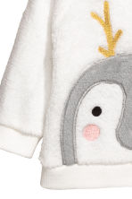 Plush top - White/Penguin - Kids | H&M CN 2