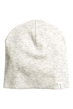 2-pack hats - Light beige marl - Kids | H&M CN 2