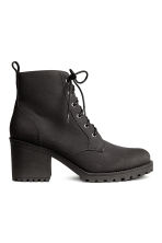 Pile-lined boots - Black - Ladies | H&M CN 1