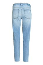 Relaxed Skinny Ankle Jeans - 浅牛仔蓝 - Ladies | H&M CN 3