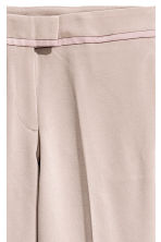 Ankle-length tuxedo trousers - Lilac - Ladies | H&M GB 3