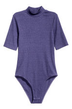 Turtleneck body - Violet - Ladies | H&M CN 2