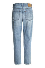 Vintage High Cropped Jeans - Denim blue trashed - Ladies | H&M CN 3
