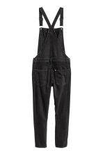 Denim dungarees - Black denim - Ladies | H&M 3