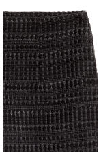 Textured skirt - Black - Ladies | H&M CN 2