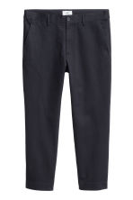 Chinos - Dark blue - Men | H&M CN 2