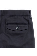 Chinos - Dark blue - Men | H&M CN 3