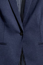H&M+ Single-breasted jacket - Dark blue -  | H&M CA 4