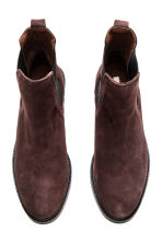 Suede Chelsea boots - Dark brown - Ladies | H&M CN 2