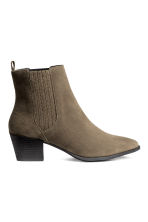 Ankle boots - Khaki - Ladies | H&M CN 1