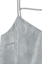 Satin dress - Silver - Ladies | H&M CN 3