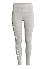 Jersey leggings - Grey marl - Ladies | H&M CN 2