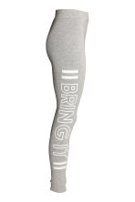Jersey leggings - Grey marl - Ladies | H&M CN 3