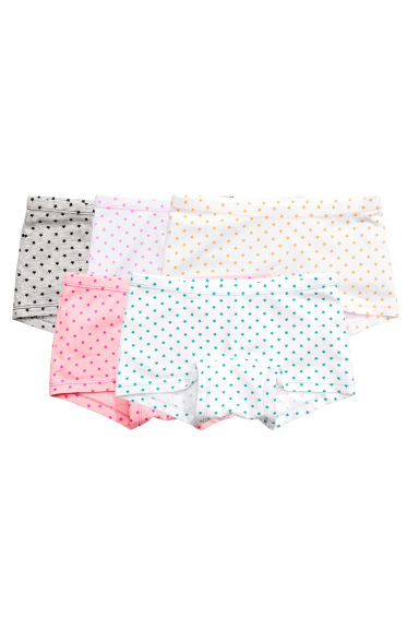 5-pack boxer briefs - White/Stars -  | H&M 1
