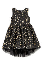 Shimmering dress - Black/Stars - Kids | H&M 2