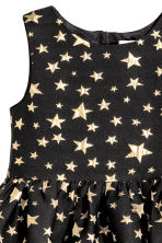 Shimmering dress - Black/Stars - Kids | H&M 3
