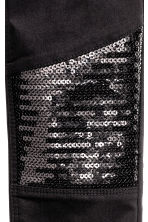 Sequined trousers - Black/Sequins - Kids | H&M CN 3