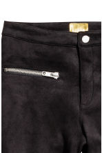 Biker trousers - Black - Ladies | H&M CN 3
