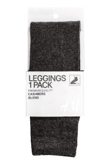 Feinstrick-Leggings