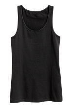 Jersey vest top - Black - Ladies | H&M CN 2