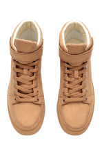 Hi-top trainers - Beige - Ladies | H&M CN 2