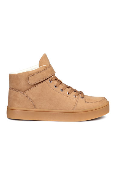 Hi-top trainers - Beige - Ladies | H&M CN 1