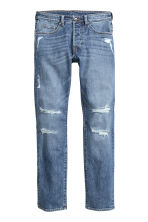 Skinny Low Trashed Jeans - Blu denim - UOMO | H&M IT 2