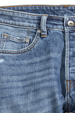 Skinny Low Trashed Jeans - Bleu denim - HOMME | H&M FR 5