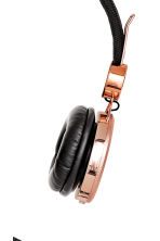 On-ear headphones - Rose gold - Ladies | H&M CN 2