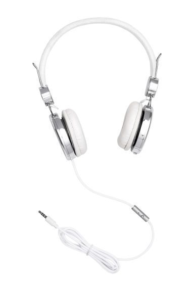 On-ear headphones - Silver - Ladies | H&M CN