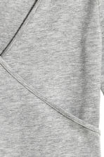 Wrapover body - Grey marl - Ladies | H&M CN 3