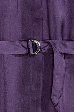 Chemisier in satin - Viola scuro - DONNA | H&M IT 3