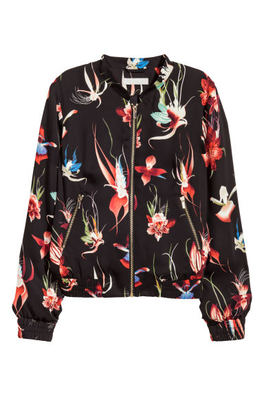 Patterns are for a misses' lined bomber jacket with variations in two styles. Patterns are for misses' size: 14, 16, 18, 20,