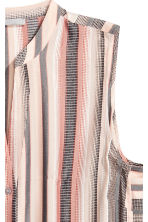 Jacquard-weave tunic - Light beige/Striped - Ladies | H&M GB 3