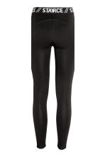 Leggings con bande in mesh - Nero - DONNA | H&M IT 5