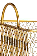 Metal storage basket - Gold - Home All | H&M GB 3