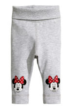 3-piece jersey set - Grey/Minnie Mouse - Kids | H&M CN 2