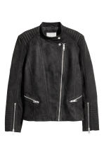 Biker jacket - Black - Ladies | H&M CA 2