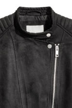 Biker jacket - Black - Ladies | H&M CA 3