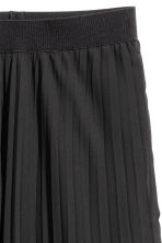 Pleated skirt - Black - Ladies | H&M CN 3