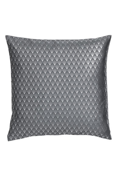 Patterned cushion cover - Grey/Silver - Home All | H&M CN 1