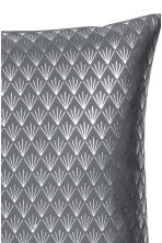 Patterned cushion cover - Grey/Silver - Home All | H&M CN 3