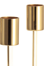 Metal candlestick - Gold - Home All | H&M CA 3