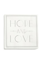 White/Hope and Love