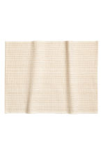 Glittery cotton table mat - White/Gold - Home All | H&M CN 1